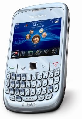T-Mobile présente RIM BlackBerry Curve 8520