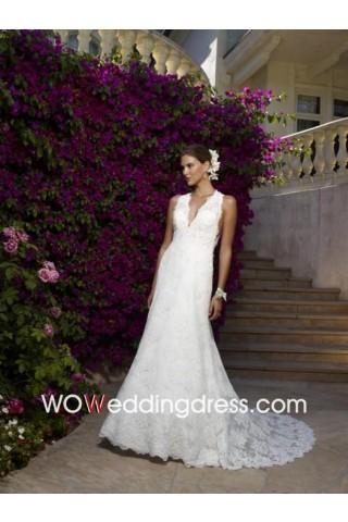Dancing dress, let the bride has dreamy temperament.