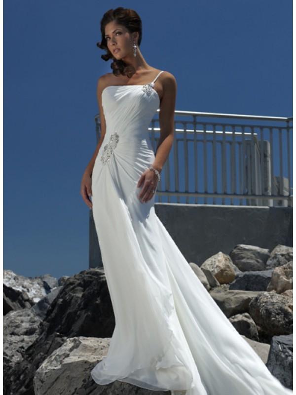 sunflowers - beach wedding dresses